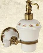 Подробнее о Дозатор для мыла Migliore Provance  ML.PRO-60.507.CR настенный цвет хром / керамика