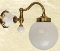 Подробнее о Светильник Migliore Provance  ML.PRO-60.530.CR настенный цвет хром / керамика