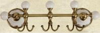 Подробнее о Крючки Migliore Provance  ML.PRO-60.539.CR (3 шт на планке хром / керамика