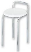 Подробнее о Стульчик Nicol Lutz  1424000 для ванны душевой кабины хром / сиденье пластик белый