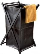 Подробнее о Корзина для белья Nicol Lotta  1460638 экокожа цвет коричневый