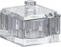 Подробнее о Контейнер Nicol Patricia   2123200 настольный хрусталь прозрачный