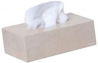 Подробнее о Лоток Nicol Victoria   2313112 настольный для салфеток натуральный камень travertin