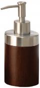 Подробнее о Дозатор Nicol Kenia  2421920 настольный для жидкого мыла дерево орех / нержавеющая сталь