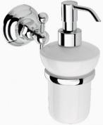 Подробнее о Дозатор для жидкого мыла Niсolazzi Classica lusso  1489 CR настенный хром / керамика белая
