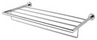 Подробнее о Полка Niсolazzi Minimale  1499M CR решетка с полотенцедержателем 50 см хром / стекло