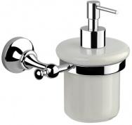 Подробнее о Дозатор жидкого мыла Performa Per4M-24  25804 CR настенный хром/керамика белая