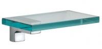 Подробнее о Полка Pomdor Jack  48.50.20.002 стеклянная 20 см хром/стекло