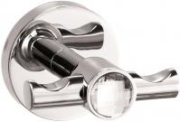 Подробнее о Крючок Sanibano Sahara  H9700-09d Crystal двойной хром / Swarovski