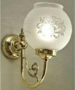 Подробнее о Светильник Sbordoni Flora  LI030OL настенный латунь/стекло