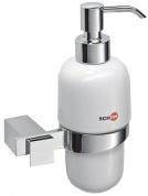 Подробнее о Дозатор жидкого мыла Schein Durer  262D настенный хром /керамика белая
