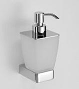Подробнее о Дозатор жидкого мыла Schein Elite  7057020 настенный хром /стекло матовое