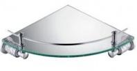 Подробнее о Полка стеклянная Schein Carving  7065048 угловая  хром /стекло прозрачное