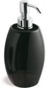 Подробнее о Дозатор для жидкого мыла StilHaus Zefiro  654 NE настольный хром / керамика черная