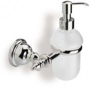 Подробнее о Дозатор для жидкого мыла StilHaus Elite  EL 30 CR настенный хром / стекло матовое