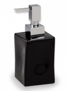 Подробнее о Дозатор для жидкого мыла StilHaus Prisma  795 NE настольный хром / керамика черная