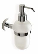 Подробнее о Дозатор для жидкого мыла StilHaus Rondo  RO 30 настенный хром / стекло матовое