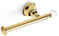 Подробнее о Бумагодержатель StilHaus Smart Light  SL 11 ORO открытый золото / Swarovski