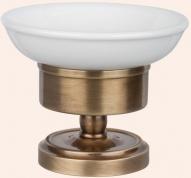 Подробнее о Мыльница Tiffany TW Bristol  TWBR160 CR настольная хром / керамика