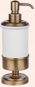 Подробнее о Дозатор Tiffany TW Bristol  TWBR180 CR жидкого мыла настольный хром / керамика