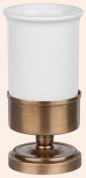 Подробнее о Стакан Tiffany TW Bristol  TWBR190 CR настольный цвет хром / керамика