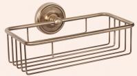 Подробнее о Полка-решетка Tiffany TW Bristol  TWBR527 BR 24 х h7 см бронза