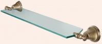 Подробнее о Полка Tiffany TW Harmony  TWHA018 CR  стеклянная 71 см хром