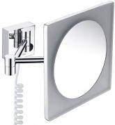 Подробнее о Зеркало косметическое Wasserkraft  K-1008 (3Х) с LED подсветкой хром