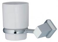 Подробнее о Стакан Wasserkraft Aller K-1100  K-1128C подвесной хром/керамика белая