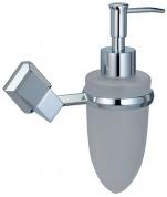 Подробнее о Дозатор для мыла Wasserkraft Aller K-1100  K-1199 подвесной хром/стекло матовое
