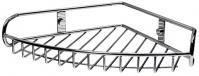 Подробнее о Полка-решетка Wasserkraft  K-1211 угловая 27,6 см хром