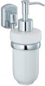 Подробнее о Дозатор для мыла Wasserkraft Oder K-3000  K-3099C подвесной хром/керамика белая