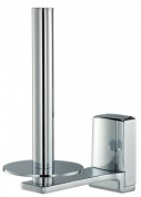 Подробнее о Бумагодержатель Wasserkraft Leine K-5000  K-5097 открытый вертикальный хром