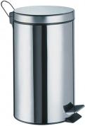 Подробнее о Ведро для мусора Wasserkraft K-633 с педалью 3 литра нержавеющая сталь