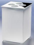 Подробнее о Стакан Windisch Box Matt  83122MCR настольный хром /стекло матовое белое