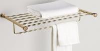 Подробнее о Полка-решетка Windisch Star Light Swarovski  85560CR для полотенцев хром / Swarovski