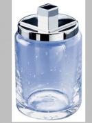 Подробнее о Контейнер малый Windisch Acqua  88117CR настольный стекло прозрачное / хром