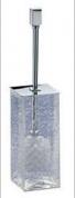 Подробнее о Ершик для туалета Windisch Box Craquele  89131CR напольный стекло `кракле` / хром