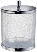 Подробнее о Ведро мусорное Windisch  89165CR  хром /стекло кракле