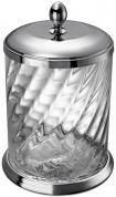 Подробнее о Ведро мусорное Windisch Spiral  89802CR  хром / стекло витое прозрачное
