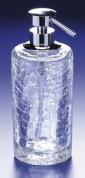 Подробнее о Дозатор для жидкого мыла Windisch Addition Craquele  90432CR настольный стекло `кракле` / хром