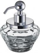 Подробнее о Дозатор для жидкого мыла Windisch Mini  90474CR настольный стекло  прозрачное / хром