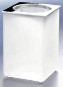 Подробнее о Стакан Windisch Box Matt  91122MCR настольный хром /стекло матовое белое