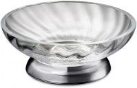 Подробнее о Мыльница Windisch Spiral  92801CR настольная хром  /стекло витое прозрачное