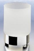 Подробнее о Стакан Windisch Box Matt  94117MCR настольный хром /стекло матовое белое