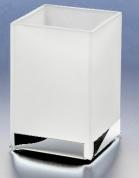 Подробнее о Стакан Windisch Box Matt  94121MCR настольный хром /стекло матовое белое