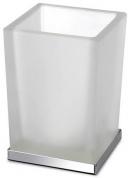 Подробнее о Стакан Windisch Box Lineal Crystal Matt  94125MCR настольный хром /стекло матовое белое
