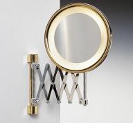 Подробнее о Зеркало косметическое Windisch  99158CR с подсветкой (желтый свет) (2X) хром