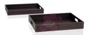Лоток Andrea House AX11212 для аксессуаров 47,8 х 34 см коричневый (экокожа