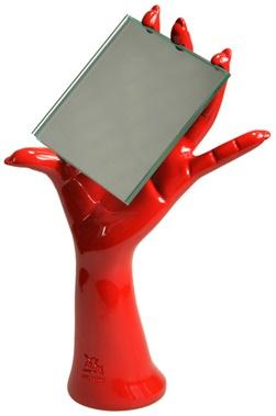 Зеркало Antartidee Mani 1163 Rosso`Рука` цвет красный